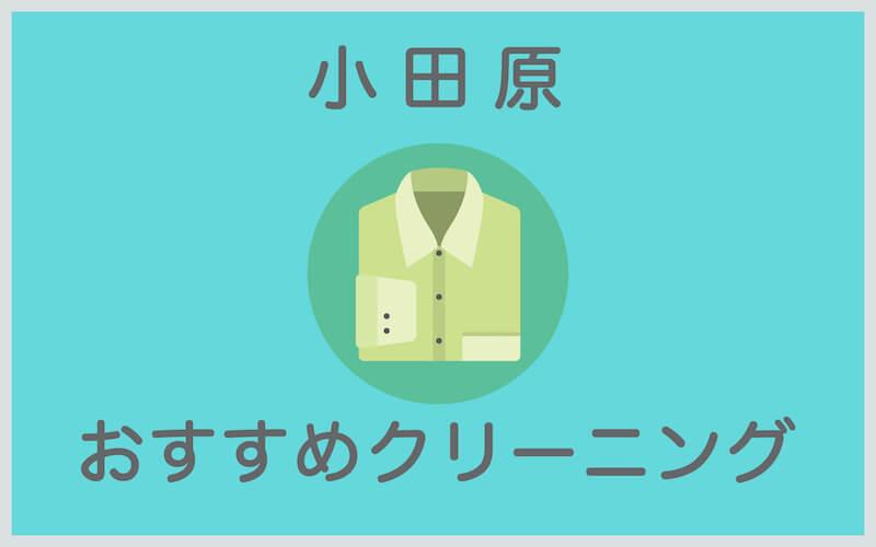 小田原のおすすめクリーニング