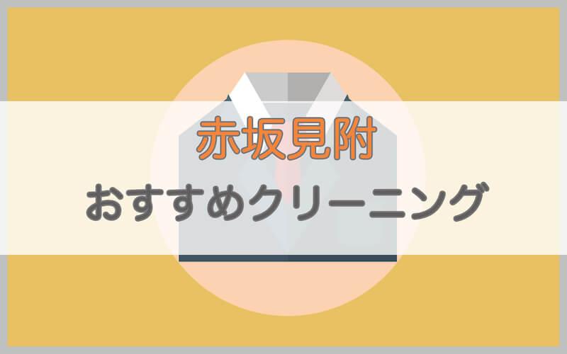 赤坂見附のおすすめクリーニング